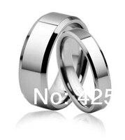 Biżuteria męska Wysoki Połysk Obrączki Pierścionek wolframu pierścień z węglika Wolframu Zespół Hurtownie Cena USA 2014 nowy biżuteria