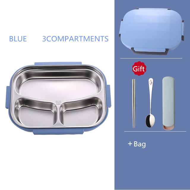 Blue 3  bag Cheap bento boxes 5c6479e2edeb1
