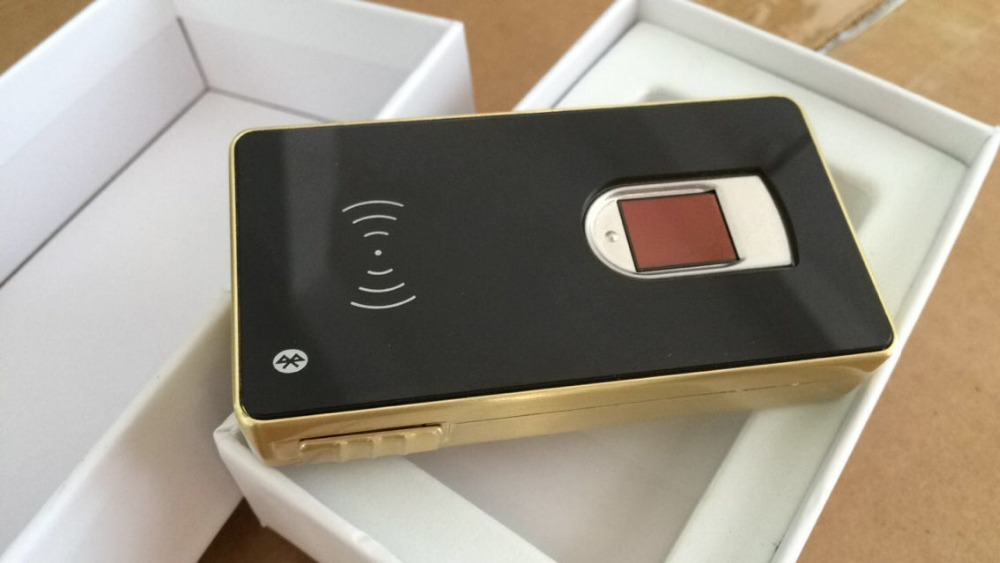 Lecteur de Capture d'empreinte digitale de connexion sans fil de Bluetooth d'os de Windows Andorid pour le projet de banque de télécom