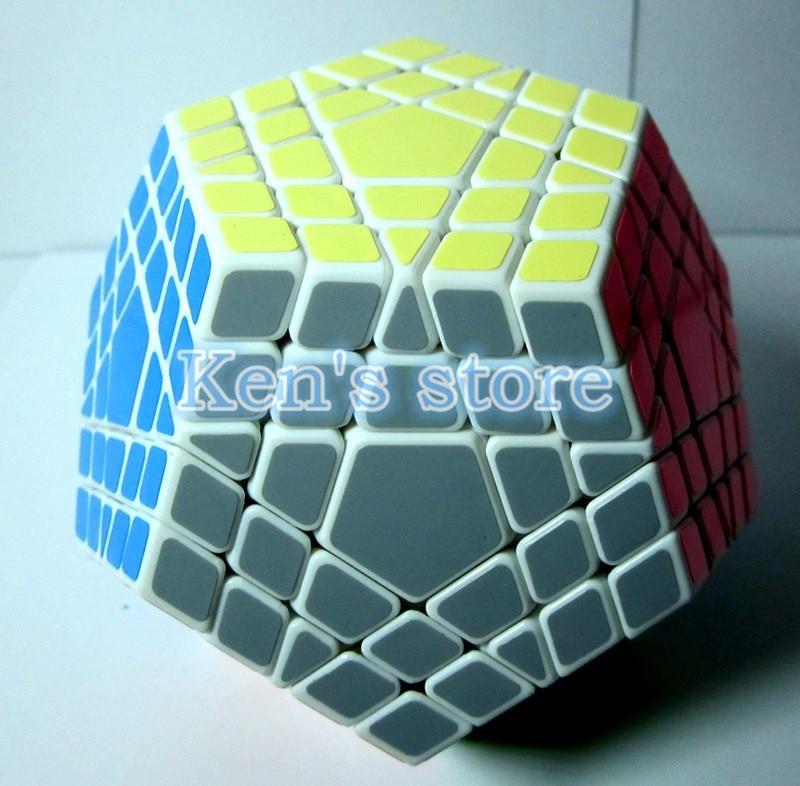2017 Novi Shengshou SHS Gigaminx Puzzle Cube Stručni 5x5x5 PVC i Mat - Igre i zagonetke - Foto 2