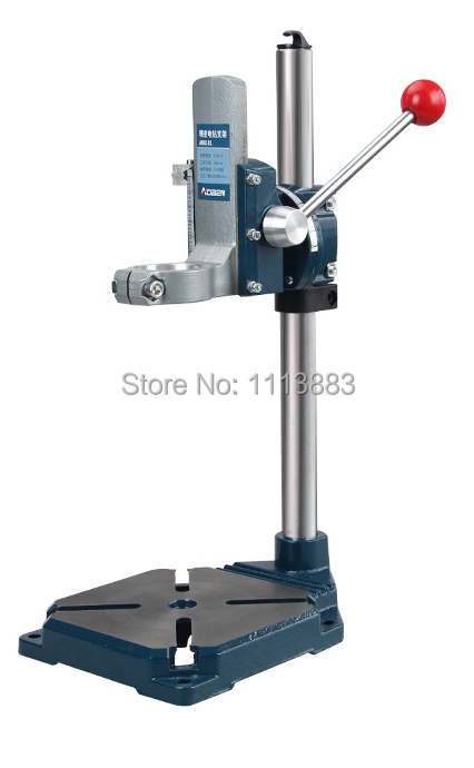 Soporte de perforación de alta resistencia, soporte de hierro fundido de prensa de perforación para taladros eléctricos manuales