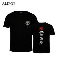KPOP Koreański Mody VIXX ALIPOP 4th Mini Album PT485 K-POP Shangri-la Bawełna Tshirt Koszulki z krótkim rękawem T-shirty