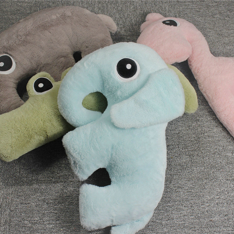 Cute Elephant Plush Toys Animal Doll For Children High Quality Soft Alpacasso Pillow Baby Girl Gift