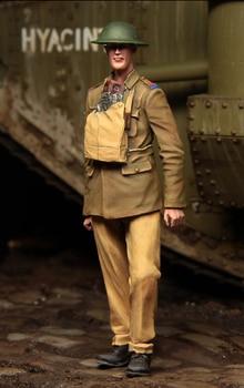 [tuskmodel] 1 35 scale resin model figures kit  WW1 British Tank crewman t1104 1