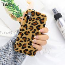 Leopard Print Warm Plush Phone Case For Meizu M6 Note case for MEIZU M5 Note M6 NOTE 15 15plus 16 16Plus MX6 TPU Fur Cover capa