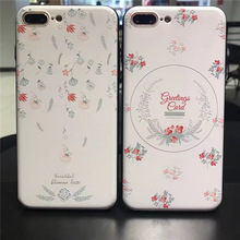 Buy apple greeting cards and get free shipping on aliexpress floral 3d relief phone case for iphone x 7 7plus 8 8plus greeting card floral hard m4hsunfo