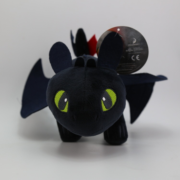 9''23cm How To Train Your Dragon Toothless Dragon Plush Night Fury Stuffed Soft Dolls Animal Toys For Kids Cute Gifts newest how to train your dragon 2 action cosplay weapons fire sword axe buckler toys for children brinquedos kids minecraft toys
