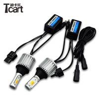 Tcart for suzuki Grand vitara T20 7440 WY21W Car DRL Daytime Running Lights Turn Signals Auto Led Bulbs