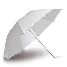 Фотография Профессиональная студия мягкий полупрозрачный белый люминесцентный зонтик для студии вспышка лампа освещение фотографический аппарат