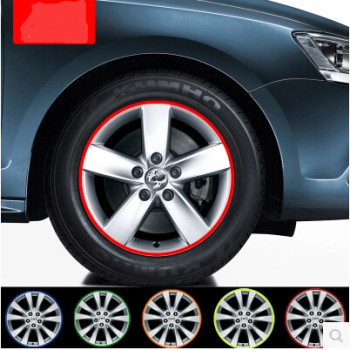 Car-styling Wheel Rim Reflective Sticker For Subaru Forester Outback Legacy Impreza XV BRZ image
