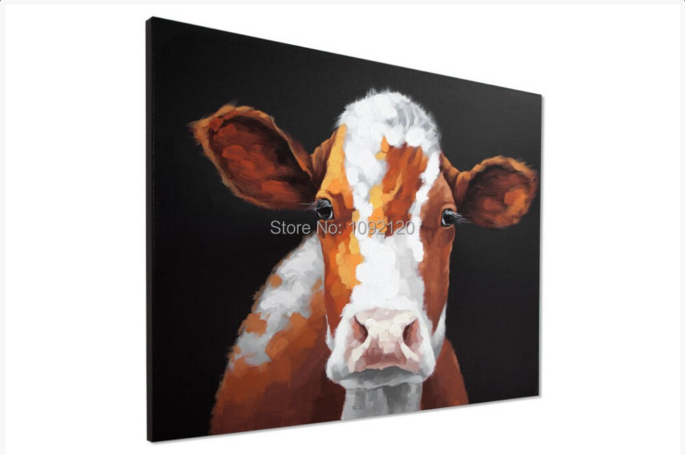 Handgemaakte moderne mooie koe abstracte decoratieve mooie dierlijke - Huisdecoratie