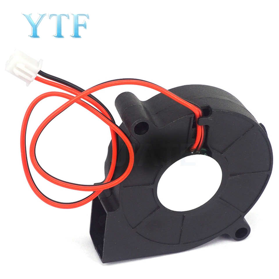3D Printer Parts Fan 5015 5V/12V/24V Sleeve Bearing Brushless For Reprap Prusa I3 DC Cooling Fan Turbo Fan 5015S
