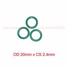 OD 20mm x CS 2.4mm viton rubber o-ring orings gasket sealing