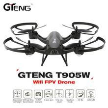 T905W Control remoto helicóptero 2,4g 4CH transmisor WiFi FPV RC Quadcopter GPS altitud T905W helicóptero HD Cámara Drone