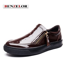 BENZELOR Fashion Business Men Shoes 2017 Quality Zapatos Brand Comfortable Zapatos Male Chaussure Homme Designer Zapatos SD5208
