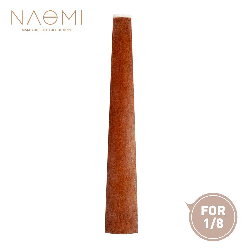 Violin Parts & Accessories Loyal Naomi Violin Fingerboard Fretboard 1/8 Rosewood Violin Fingerboard W/ Nut Violin Parts Accessories New Diversified In Packaging