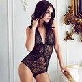 Encaje Elástico Delgado Mujeres Sexy Encaje Body Trainer Corsé Shapewear Inconsútil Fino Soild Body V Chaleco Bodyshaper