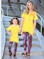 Мать и дочь одежда мама мама мама мама мама мама дочь брюки Капри Леггинсы Семьи Соответствующие Наряды про горячие продажа