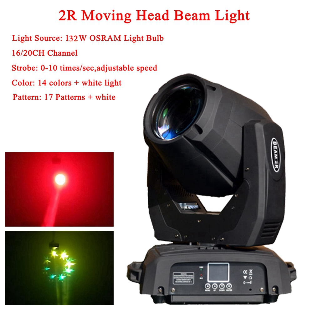 Sharpy 2018 NEW 2R 132W Moving Head Beam Spot Wash Light Yodn MSD 132W Lamp DMX Professional Stage DJ Disco Effect Lighting Show 2r sharpy beam 2r compact moving head stage lights 132w 2r brand lamp mini sharpy moving head light 90v 240v free shipping