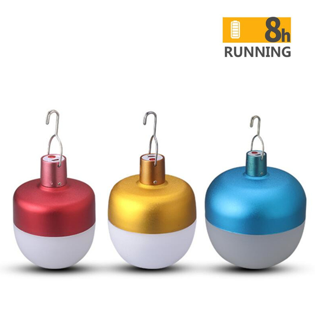 Unique design apple USB rechargeable LED bulb 28w 40w 60w 85w portable led lamp outdoor emergency lighting LED bulb
