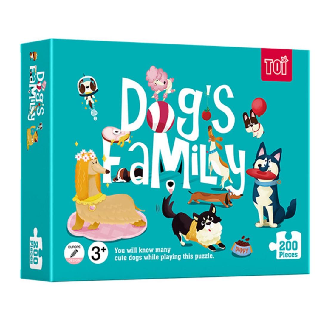 200 pièces mignon Panda famille thème papier Puzzle enfants jouet bébé Puzzle Cartoon début jouets éducatifs pour enfants enfants cadeaux
