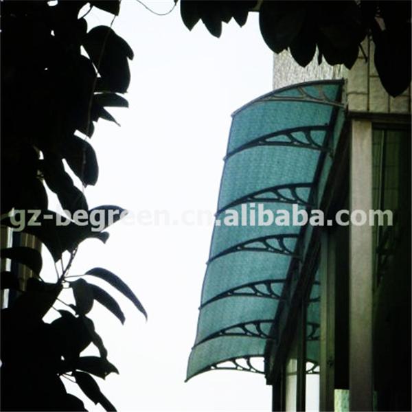 YP100480 100x480 cm Folha de Policarbonato Transparente DIY Janela UV Chuva Toldo Do Pátio Ao Ar Livre Tampa Protetor Solar Porta Dossel