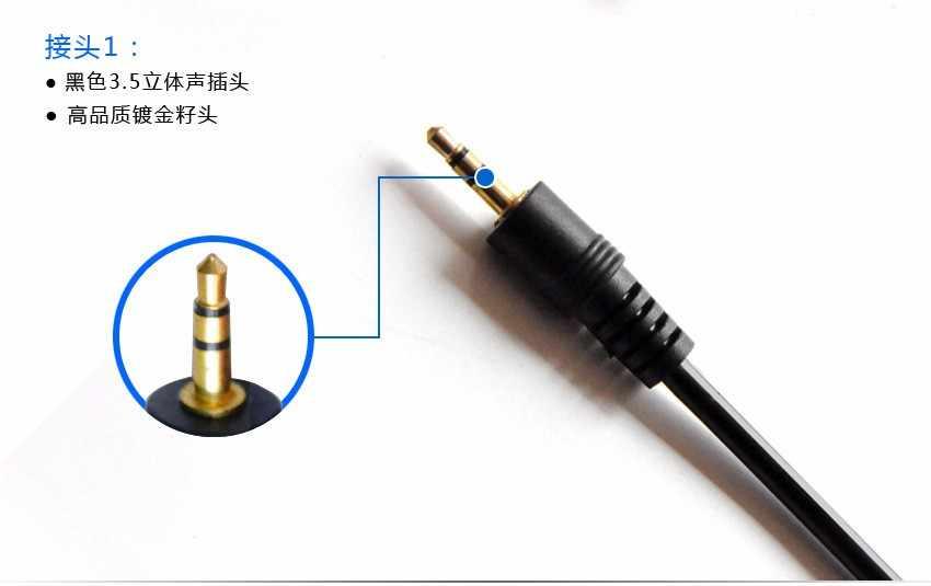 3.5 Jack 3.5mm męski na 3.5mm żeńskie Audio kabel 1.5 M 3 M 5 M 10 M 15 M 20 M dla wtyczki Jack Stereo słuchawkowy AUX kabla M/F