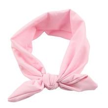 Elastic headband with bow
