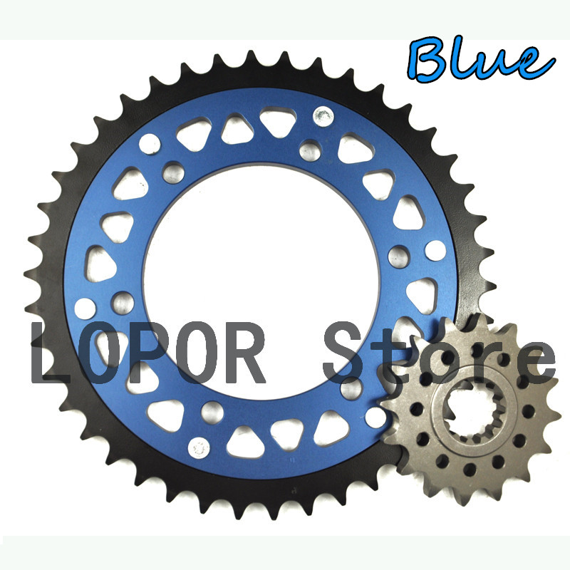 LOPOR #530 Motorcycle Front & Rear Sprocket kit set For Yamaha FZS1000 FZS 1000 FZ1 FZ 1 YZF-R1 YZF R1 XJR1300 XJR 1300 MT-01 MT 2pcs motorcycle front floating brake disc rotor for xj600n tdm900 bt 1100 fazer1000 fzs yzf r1 xjr1300 xvs1300 xv1700 xv1900