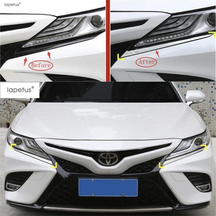 FIT For Toyota RAV4 2016 2017 2018 Front Head Light Lamp Headlight Cover Trim