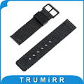 24mm Milanese Watch Band + Tool for Sony Smartwatch 2 Stainless Steel Watchband Strap Wrist Belt Bracelet Black Silver