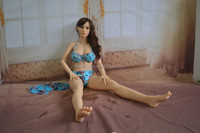 Drop Ship 2014 New Design 3D Real Japanese Solid Silicone Sex Dolls Private Hair Silicone Pussy