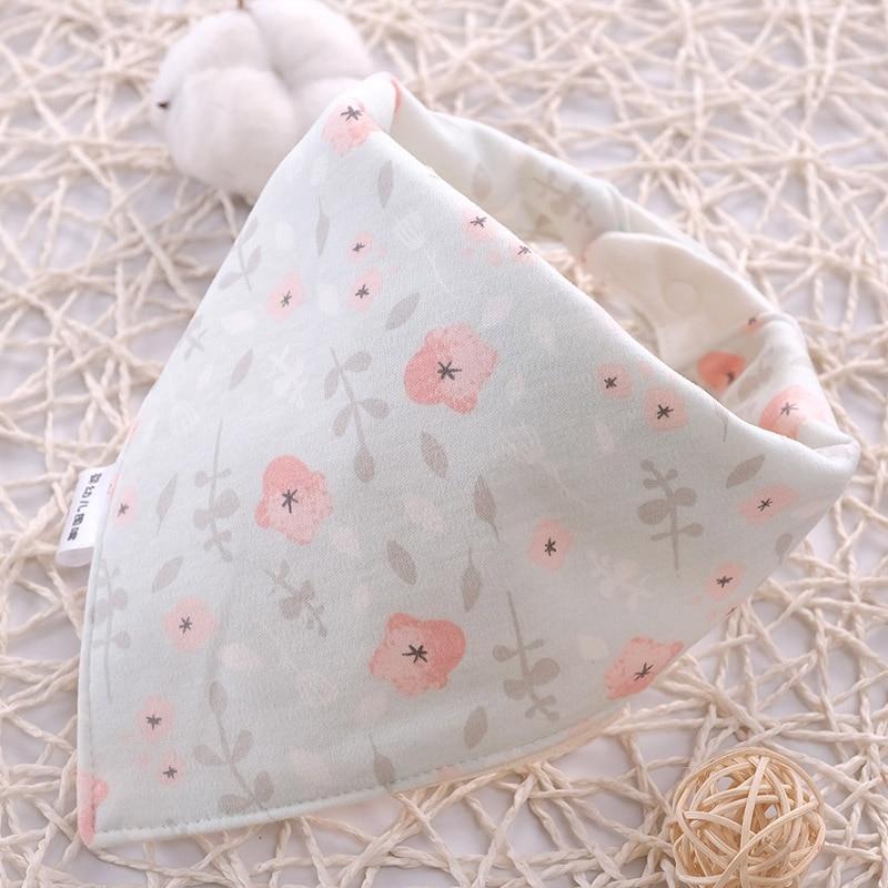 Baby Bibs Waterproof Cartoon Cotton Triangle Child Baberos Bandana Bibs Babador Dribble Bibs Newborn Slabber Absorbent Cloth