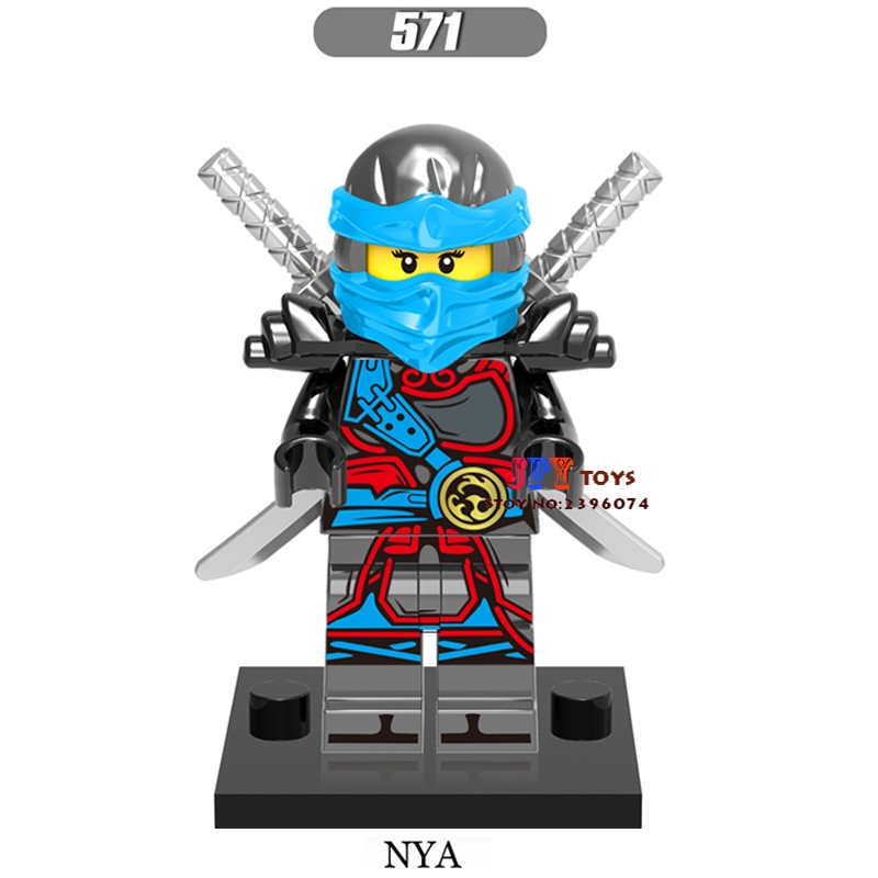 Single star wars super heroes marvel dc comics NINJA NYA building blocks models bricks toys for children kits brinquedos menino