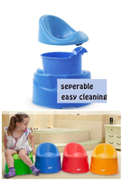 Kidsmile Multifunction Kids Toilet Seat Comfortable Portable Toilet Assistant Baby Travel Potty Chair Stool Accessories