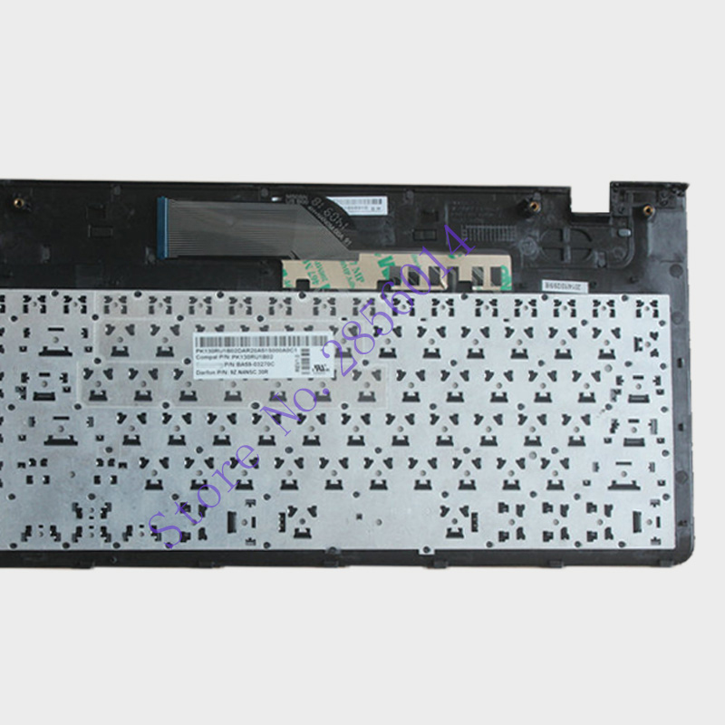 Image 4 - NEW Russian laptop keyboard with frame for samsung NP 355E5C NP355V5C NP300E5E NP350E5C NP350V5C BA59 03270C RU layout-in Replacement Keyboards from Computer & Office on
