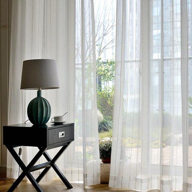 Vorhänge Für Fenster solide vorhang streifen jacquard stil dekoration schlafzimmer