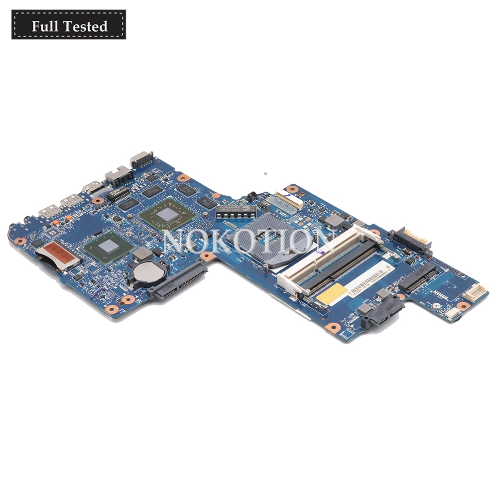 motherboard graphics NOKOTION H000051770 Main board For Toshiba Satellite C850 laptop motherboard HD7670M 2GB graphics memory DDR3 Full tested (1)