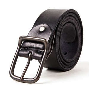 Image 2 - Top quality mens genuine leather belt designer belts men luxury strap fashion vintage pin buckle for jeans store star products