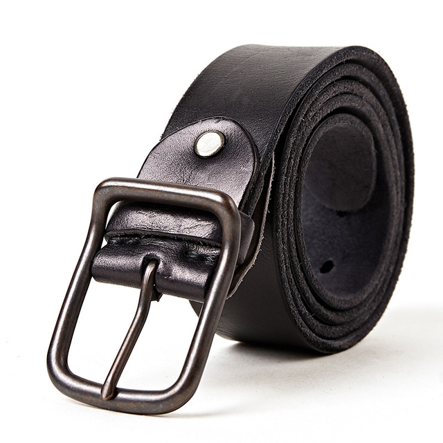 Top quality men's genuine leather belt designer belts men luxury strap fashion vintage pin buckle for jeans store star products