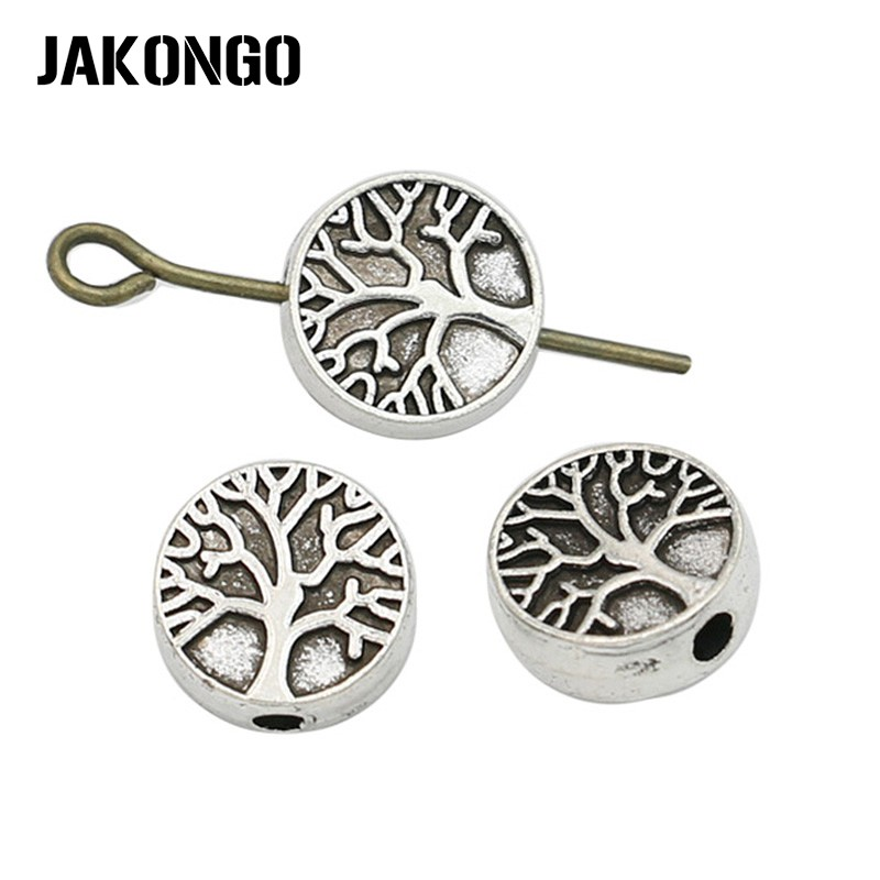 Beads & Jewelry Making Reasonable Wholesale 100pcs Spacer Charms Tibetan Silver Bronze Metal Spacer Beads 6mm For Jewelry Making Fast Shipping To Reduce Body Weight And Prolong Life Jewelry & Accessories