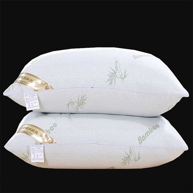 Back To Search Resultshome & Garden Bamboo Fiber Stereo Pillow Soft Pillow Core Hotel Pillow Bedding Rectangle High Pillow Single Beautiful In Colour