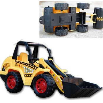 Bulldozer Models Toy Large Diecast Toys Digging Toys Model Farmland Tractor Truck Engineering Vehicles Boy Kids Gifts image