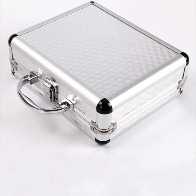 Silver Aluminum Alloy Tattoo Machine Gun Box Case Tattooing Kits Tattoo Supply Permanent Makeup Accessories
