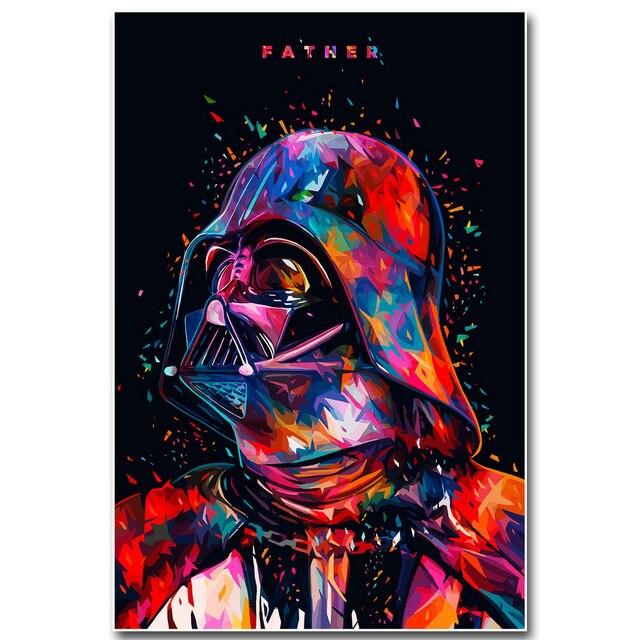 Aliexpresscom  Star Wars 7 Die Kraft Weckt Art Silk Stoff Poster