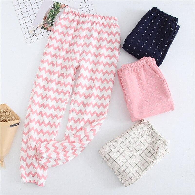Autumn Winter Pajamas Pants Women Pijama Pant Cotton Pajama Pants Casual Sleepwear Trousers Women\\'S Sleep & Home Pant