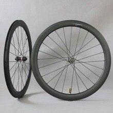 פחמן דיסק גלגלים עמוד 1423 דיבר Novatec D411/D412 רכזות 6 bolt או מרכז מנעול Cyclocross זוג גלגלי חצץ אופני זוג גלגלים