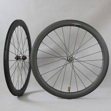 A disco in carbonio Wheelset Pilastro 1423 spoke Novatec D411/D412 mozzi 6 bolt O Centro di Blocco Ciclocross Wheelset Ghiaia della bici del wheelset