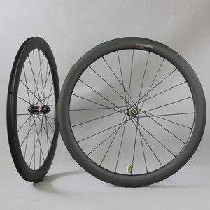 Image 1 - Dysk węglowy koła filar 1423 mówił Novatec D411/D412 piasty 6 śruby lub centralny zamek Cyclocross koła żwiru zestaw kół rowerowych