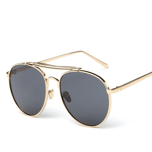 fed82a5fccfc0 Novos oculos masculino Revestimento de Espelho Óculos De Sol Dos Homens Da  Marca Designer gafas de